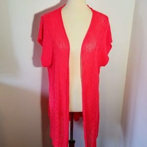 Maurices Size 4 Open Front Corral Cardigan